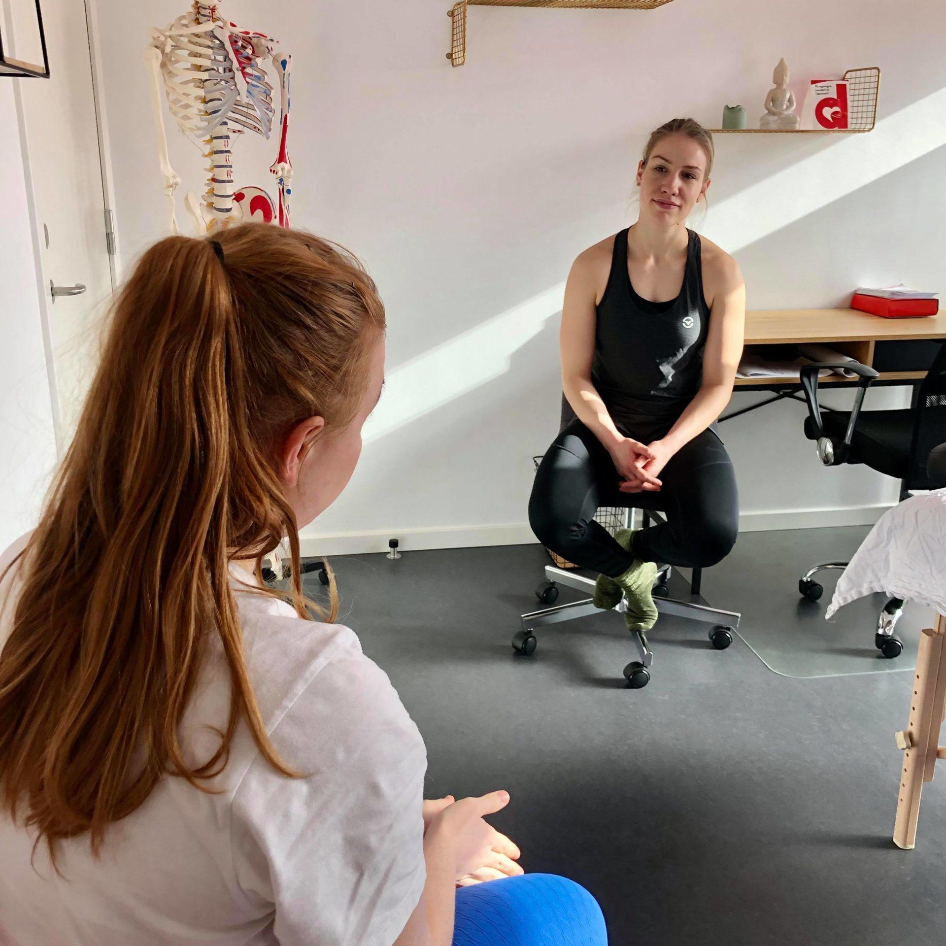 Fysioterapeut Vanløse, Improve Studio, Sofie Ankerstjerne